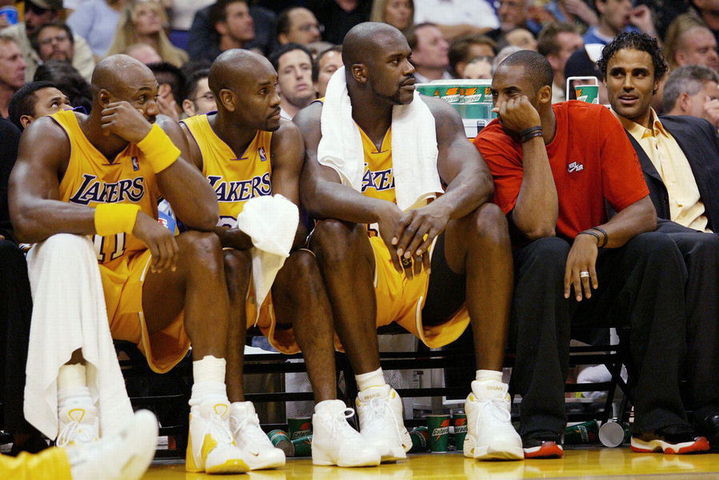 separation shoes 28c05 44d58 Kobe Bryant wearing Air Jordans in Games   NikeTalk